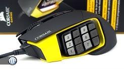 Gaming-Maus mit 17 Tasten? - Corsair Scimitar Pro RGB im Test!