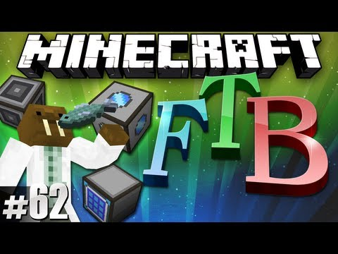 Minecraft Feed The Beast #62 - ME Crafting!