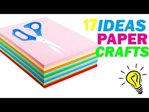 How To Make Paper Things DIY Paper Craft Ideas