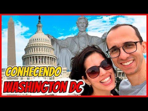 Conhecendo WASHINGTON DC (1/2) - Capitólio,  Memorias de Lincoln e da 2ª Guerra Mundial, Obelisco