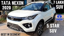 2020 Tata Nexon BS6 Premium SUV Review - Latest Features, Interiors, Price | New Nexon Facelift 2020