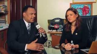 Tele Image - Interview avec Stephanie Villedrouin Ministre Tourisme en Haiti