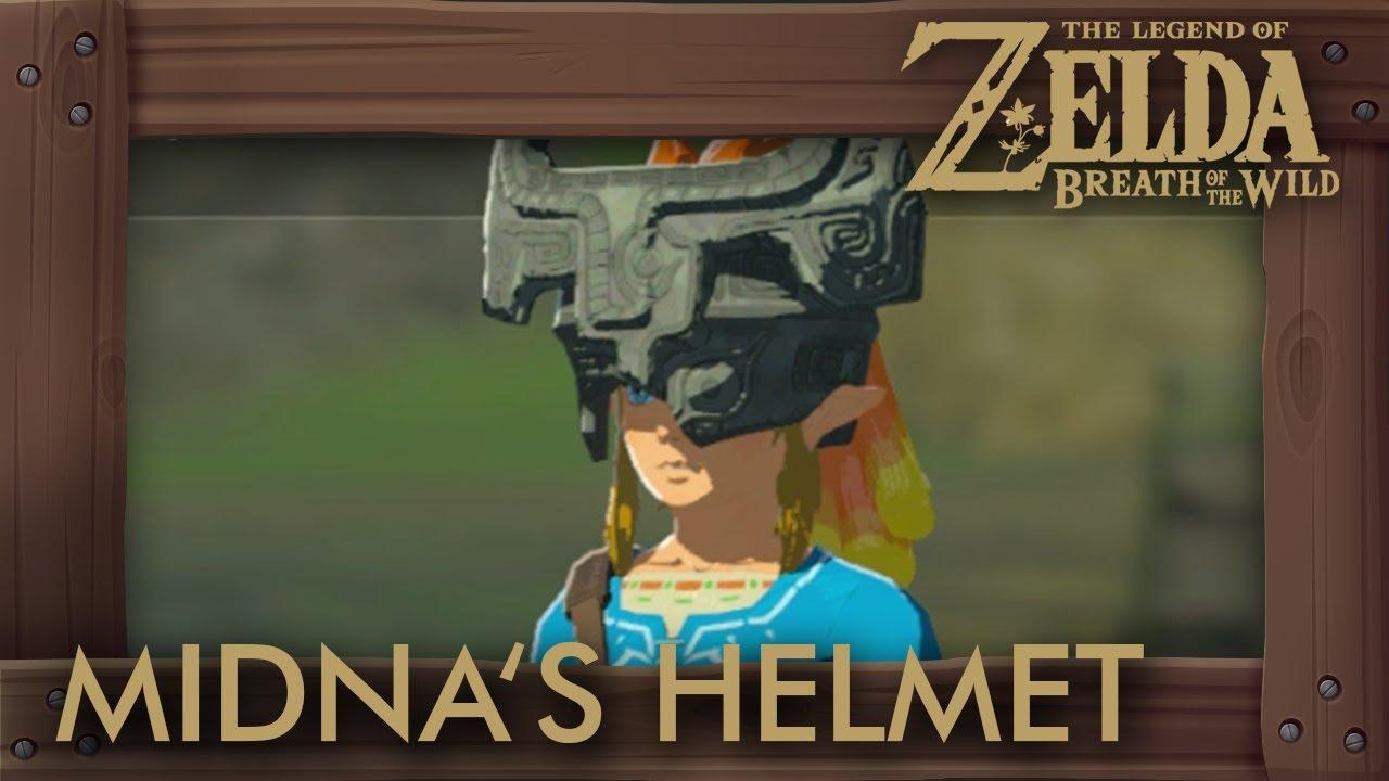 Zelda Breath Of The Wild Midna S Helmet Location Youtube