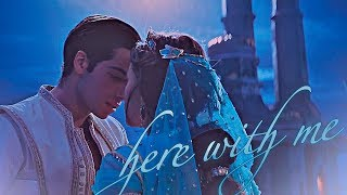 » be here with me (aladdin x jasmine)