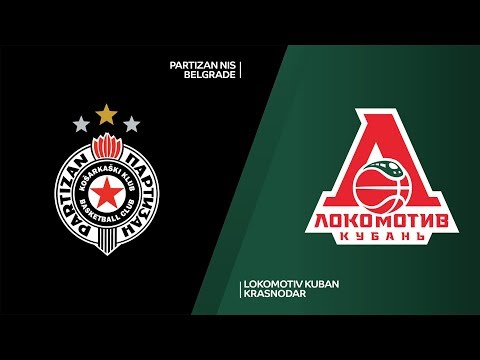 Partizan NIS Belgrade - Lokomotiv Kuban Krasnodar Highlights | 7DAYS EuroCup, RS Round 4