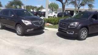 David Buick Enclave versus GMC Acadia