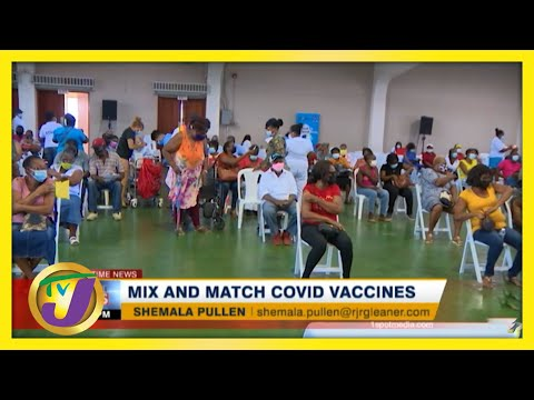 Professor Suggests Jamaica's Health Ministry to Mix & Match Vaccines - June 21 2021