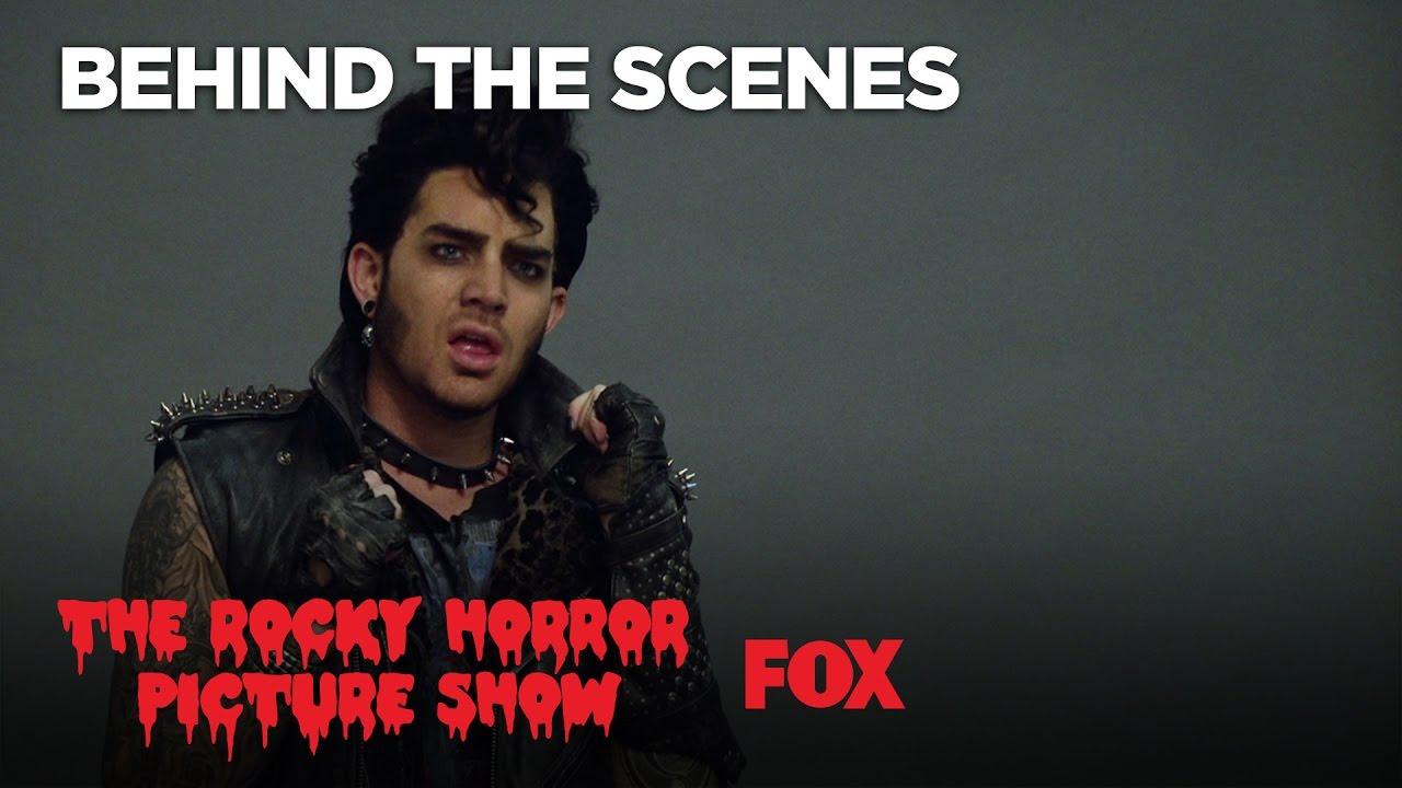Designing Eddie Played By Adam Lambert   THE ROCKY HORROR ...