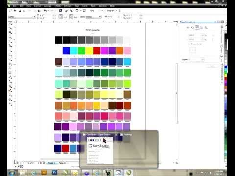 Creating a Color Palette in CorelDRAW -