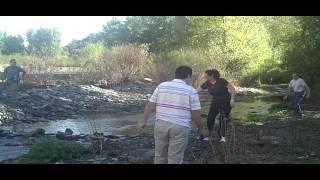 07/10/12 tirando alguna que otra piedrecita al agua (Río Guadalfeo de Cadiar - Granada)