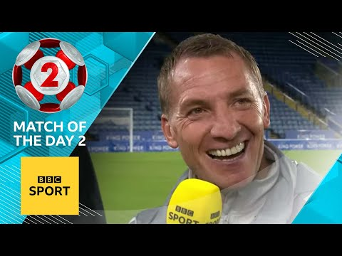 Brendan Rodgers reveals his ambitions for Leicester City & praises Ricardo Pereira | MOTD2