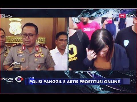 Polisi Panggil Artis Inisial AC, TP,  BS, ML, dan RS Terkait Prostitusi Online - iNews Sore 11/01 Mp3