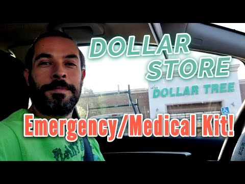 Dollar Store Medical/Emergency Kit!