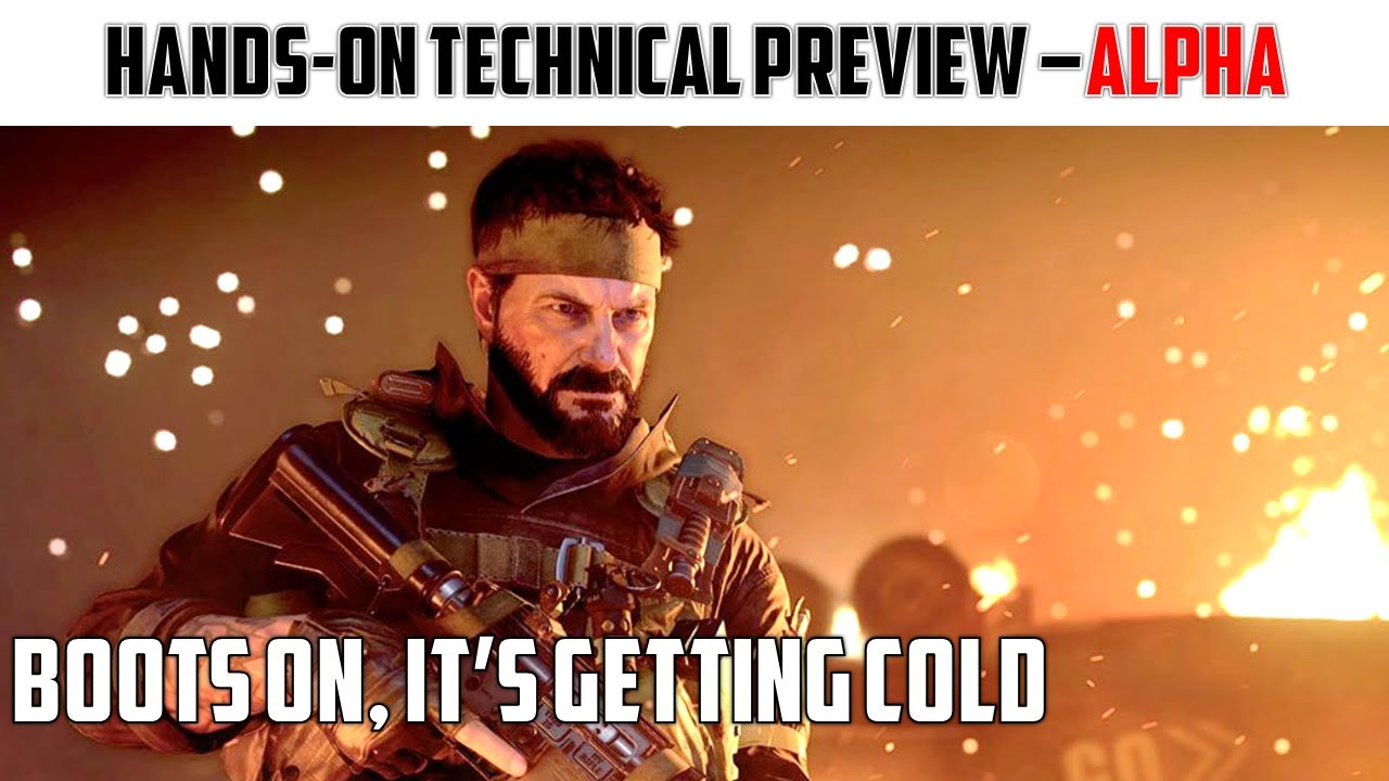 Black Ops:Cold War | Tech and Performance Analysis - Alpha | PS4 | PRO