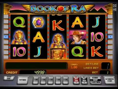 book of ra slot for free
