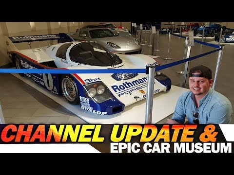 Channel update and EPIC Car Museum