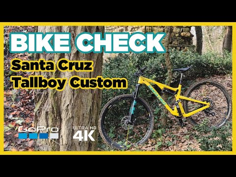 Bike Check - Mon VTT Santa Cruz Tallboy custom