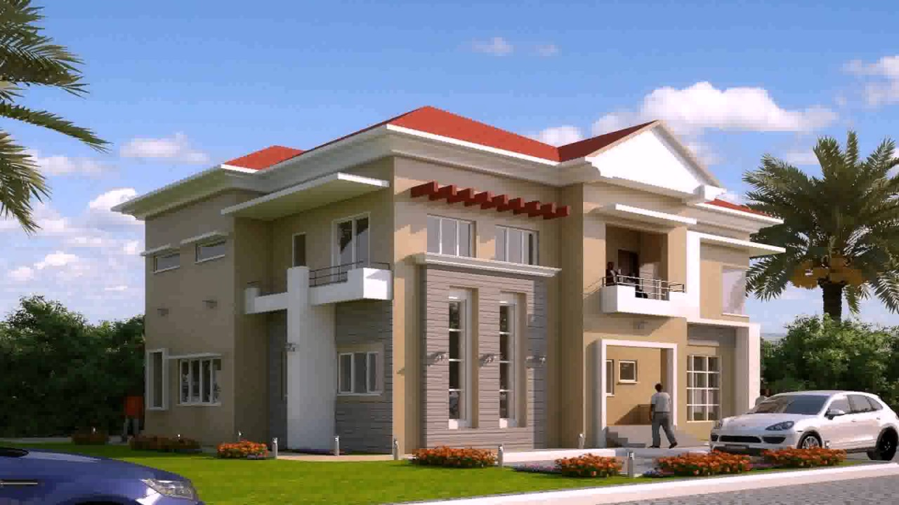 Modern Duplex House Design Philippines YouTube