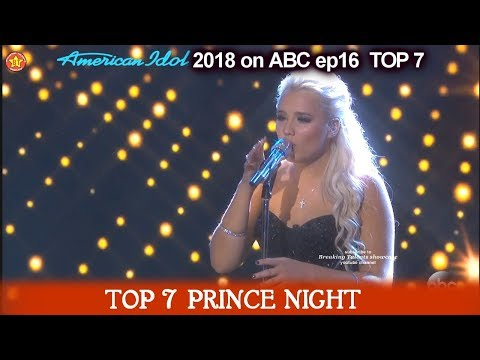 Gabby Barrett sings  I Hope You Dance   1 of THE  BEST VOCALS Prince Night American Idol 2018  TOP 7