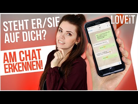 über mich dating text