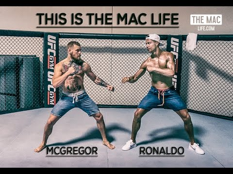 Cristiano Ronaldo meets Conor McGregor in Las Vegas - THIS I