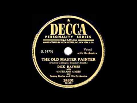 Dick Haymes — The Old Master Painter 1950