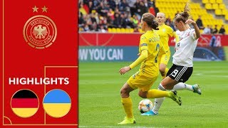 Germany vs. Ukraine 8-0 | Highlights | Women's Euro Qualifiers