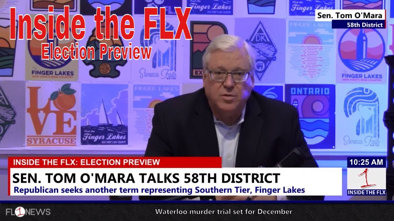 Senator Tom O'Mara talks future of Southern Tier .::. Inside the FLX 10/25/18