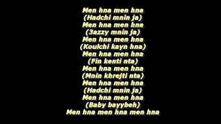 Dizzy Dros Men Hna Lyrics 2014