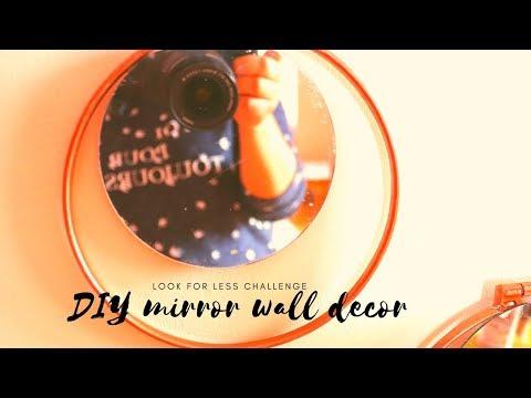 LOOK FOR LESS CHALLENGE| H&M Round mirror DIY