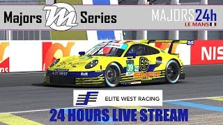 Majors 24 Hours of Le Mans - Live 24 hour stream