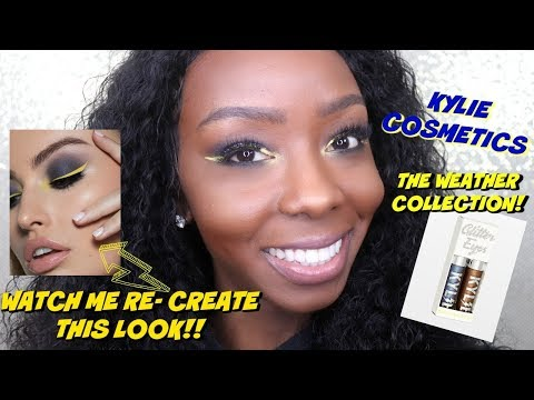 KYLIE COSMETICS WEATHER COLLECTION REVIEW || JARAH WARREN