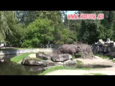 Germany #7. Munich Zoo tour and Video guide