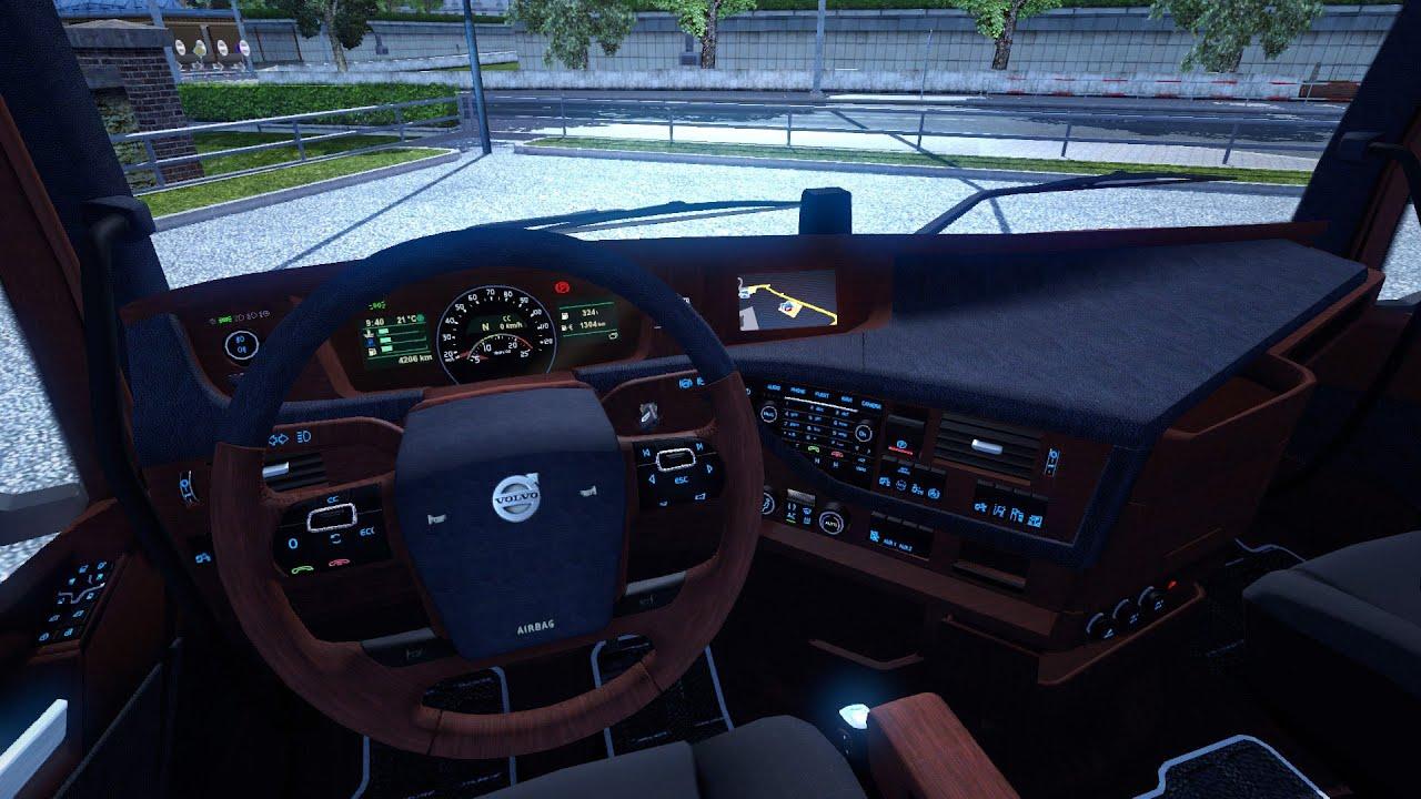 Euro Truck Simulator 2 | Volvo FH16 2012 Interior & Colored ...
