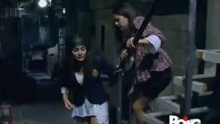 Luna e Miranda trovano la gatta e i vestiti di Renata