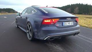 700HP Audi RS7 Sportback - Brutal Revs & Accelerations!