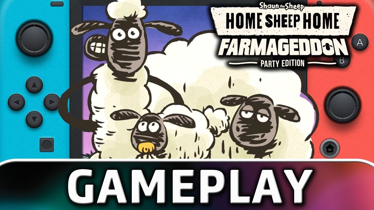 Home Sheep Home: Farmageddon Party Edition | First 10 Minutes on Nintendo Switch