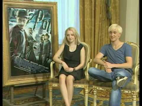 Tom Felton and Evanna Lynch in Greece