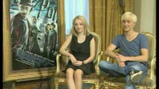 Interview Tom Felton and Evanna Lynch in Greece