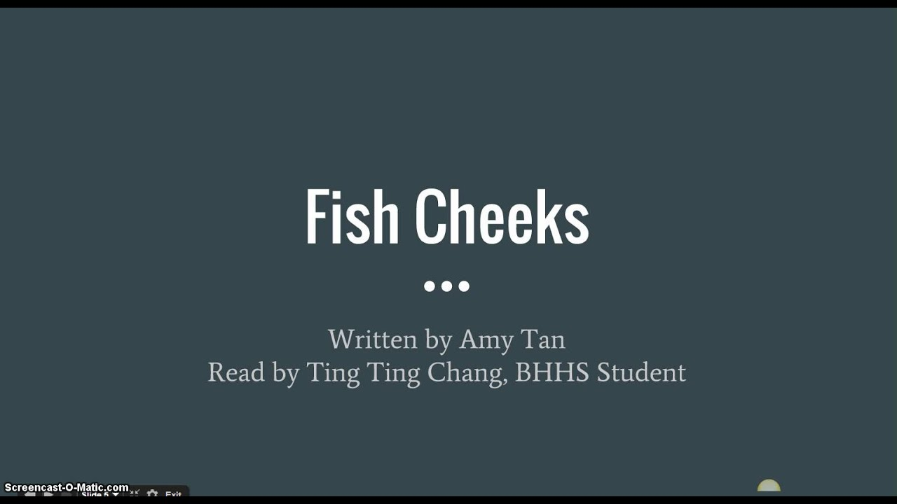 fish cheeks audio recording fish cheeks audio recording