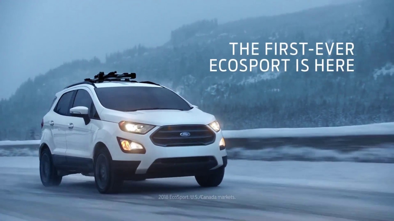 2019 New Ford Ecosport First Ever Night Ski Youtube