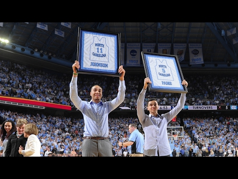 UNC Men's Basketball: Marcus Paige & Brice Johnson Honored