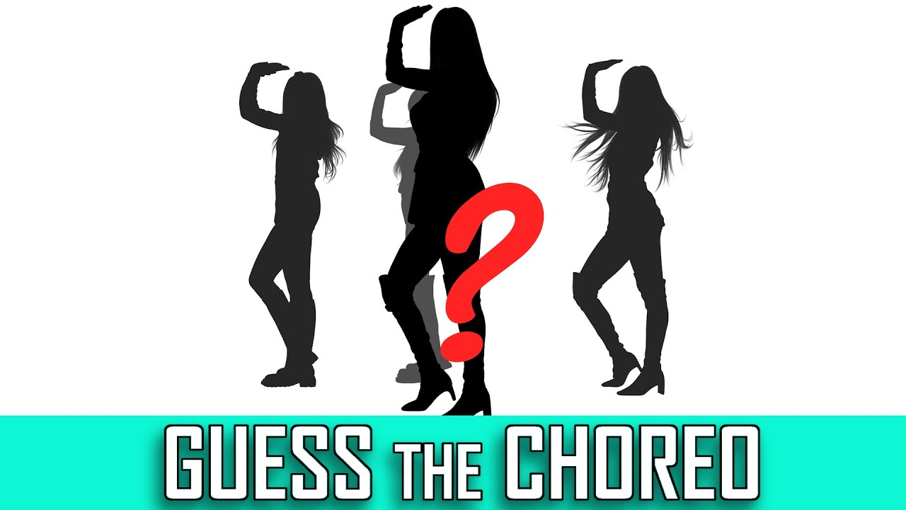 [KPOP GAME] GUESS THE CHOREOGRAPHY [SILHOUETTE]