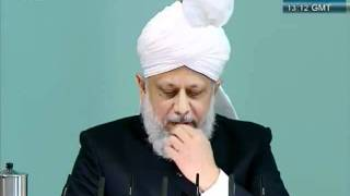 Urdu Friday Sermon 4 November 2011, Blessings of Financial Sacrifice by Ahmadiyya Muslim_clip3.flv