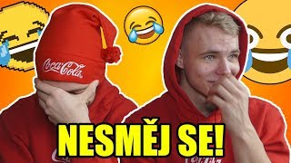 UMŘELI JSME SMÍCHY! | TRY NOT TO LAUGH CHALLENGE