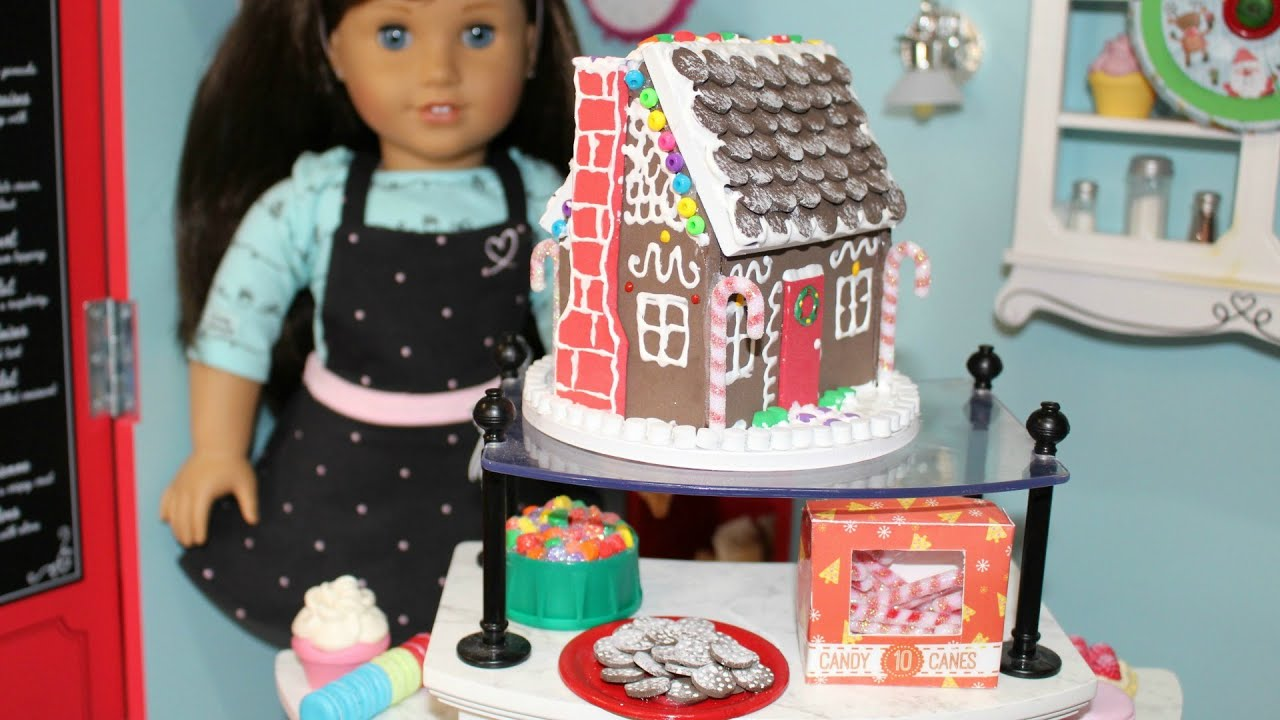 DIY American Girl Doll Gingerbread House