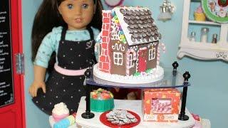 DIY American Girl Doll Gingerbread House