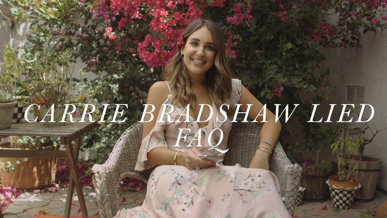 017c820aba295 FAQ with Carrie Bradshaw Lied. Kathleen Barnes