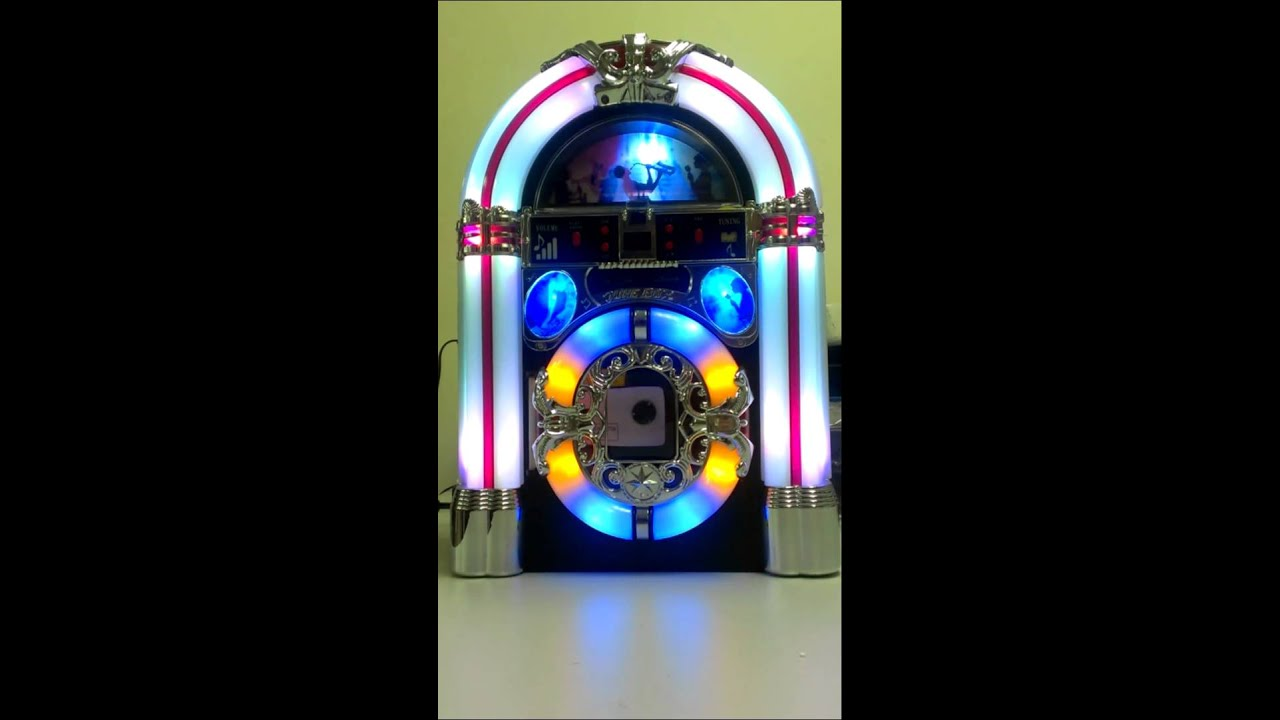 Desktop Jukebox with Color LED lighting system