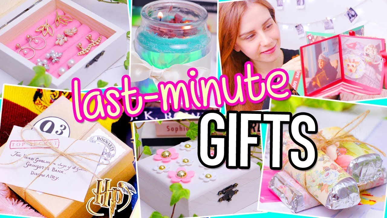 LAST MINUTE DIY Gifts! Harry Potter, magic card...| For BFF ...
